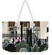 The Living And The Dead Weekender Tote Bag