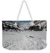The Loch Under Snow Weekender Tote Bag