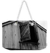 The Loft Door In Black And White Weekender Tote Bag