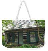 The Log Cabin Weekender Tote Bag