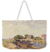 The Loing At Saint Mammes 1885 Weekender Tote Bag