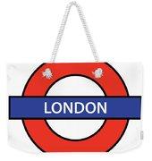 The London Underground Weekender Tote Bag