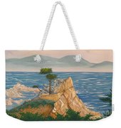 The Lone Cypress Tree Weekender Tote Bag