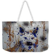 The Lone Wolf  Canis Lupus Weekender Tote Bag