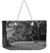 The Lonely Bench Weekender Tote Bag