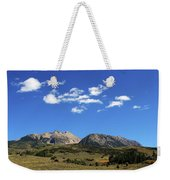 The Lonely Mountains Weekender Tote Bag