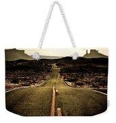 The Long Road Weekender Tote Bag