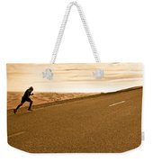 The Long Road Weekender Tote Bag