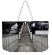 The Long Walk To Work Weekender Tote Bag
