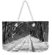 The Long Winter Walk Weekender Tote Bag