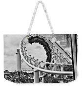 The Loop Black And White Weekender Tote Bag