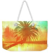 The Loop Palm Textured Weekender Tote Bag