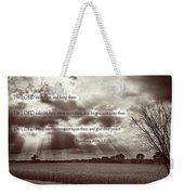 The Lords Blessing Weekender Tote Bag