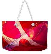Hearts A' Fire - The Love Hot Air Balloon Weekender Tote Bag