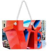 The Love Sculpture Weekender Tote Bag