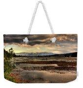 The Lower Pack River Idaho Weekender Tote Bag