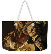 The Lutenist And The Flautist Weekender Tote Bag