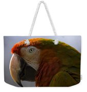 The Macaw Portrait Weekender Tote Bag
