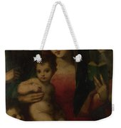 The Madonna And Child With Saints Weekender Tote Bag