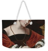 The Magdalene Writing A Letter Weekender Tote Bag