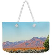 The Magic Light Of Taos  Weekender Tote Bag