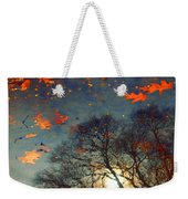 The Magic Puddle Weekender Tote Bag