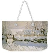 The Magpie Weekender Tote Bag by Claude Monet