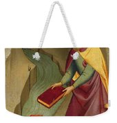 The Magus Hermogenes Casting His Magic Books Into The Water Weekender Tote Bag
