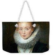 The Maid Of Honor To The Infanta Isabella Peter Paul Rubens Weekender Tote Bag
