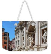 The Majesty Of The Trevi Fountain In Rome Weekender Tote Bag