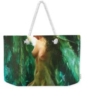 The Malachite Light Weekender Tote Bag