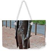 The Man Behind Monticello Weekender Tote Bag