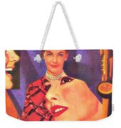 The Man In Her Life Paid More Attention To Ruby Hatfield After She Bought That New Dress Weekender Tote Bag