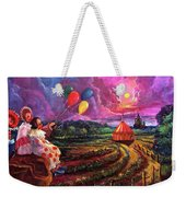 The Man In The Tent Weekender Tote Bag