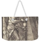The Man Of Sorrows At The Foot Of The Cross Weekender Tote Bag