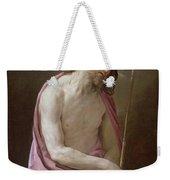 The Man Of Sorrows Weekender Tote Bag by Guido Reni