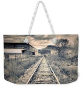 The Man On The Tracks Weekender Tote Bag