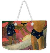 The Man With An Axe Weekender Tote Bag