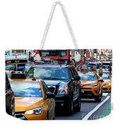 The Manhattan Morning Weekender Tote Bag