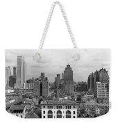 The Manhattan Skyline Weekender Tote Bag