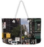 The Manhattan Sophisticate Weekender Tote Bag