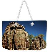 The Many Faces Of Bayon Temple, Angkor Thom, Angkor Wat Temple Complex, Cambodia Weekender Tote Bag