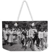 The March On Washington  Freedom Walkers Weekender Tote Bag