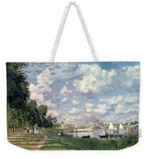 The Marina At Argenteuil Weekender Tote Bag by Claude Monet