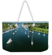 The Marina In Mamaroneck Weekender Tote Bag