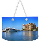 The Marina Sarasota Fl Weekender Tote Bag