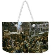 The Market Of Verona Weekender Tote Bag