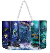 The Marlin And His Sea Friends  Weekender Tote Bag