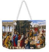 The Marriage At Cana Weekender Tote Bag by Julius Schnorr von Carolsfeld