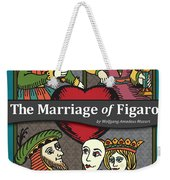 The Marriage Of Figaro Weekender Tote Bag